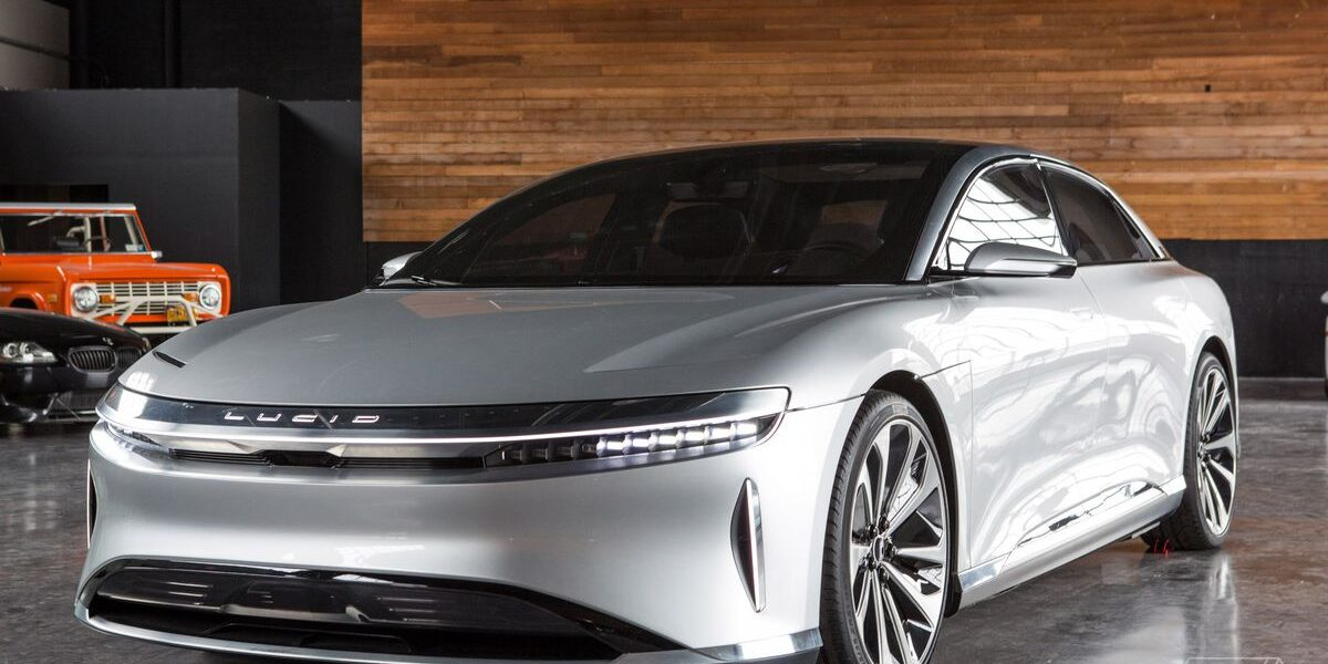 Lucid Motors Says Lucid Air To Be The Fastest Charging EV Yet