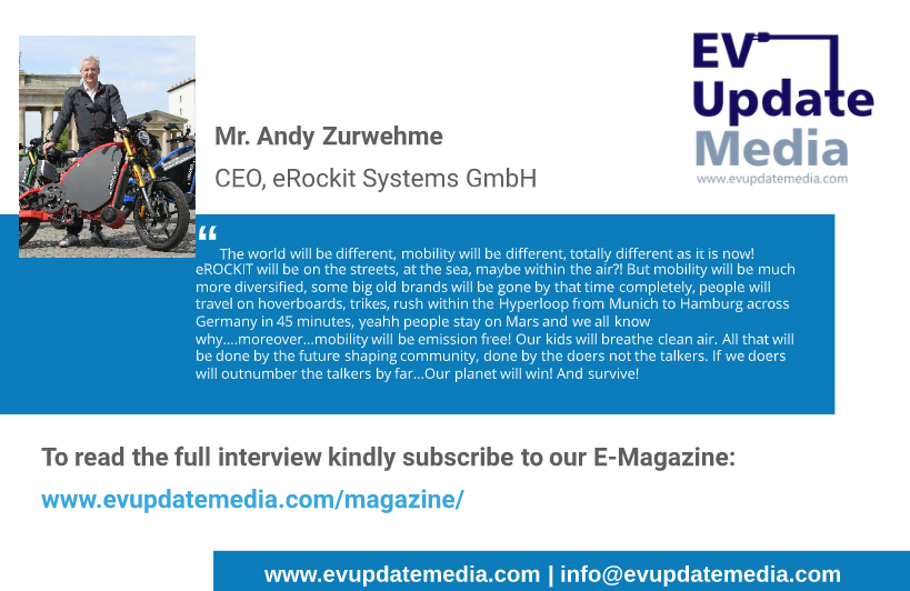 Mr. Andy Zurwehme - CEO, eRockit Systems GmbH