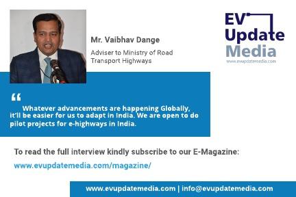 Mr. Vaibhav Dange - Adviser to MoRTH (Flyer)